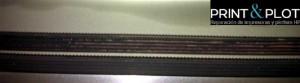 desgaste de correa de plotter hp 1050 1055